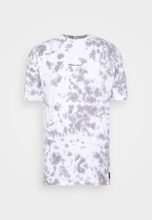 BEAT  - Print T-shirt - white
