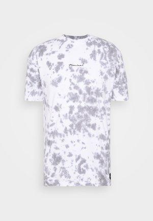 BEAT  - T-shirt z nadrukiem - white