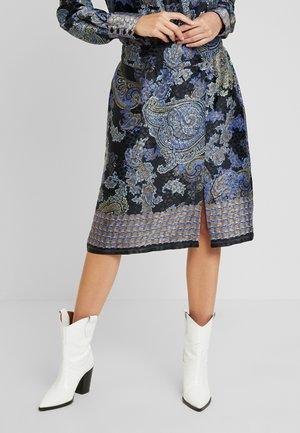 CAROLYNA SKIRT - Pouzdrová sukně - pitch black