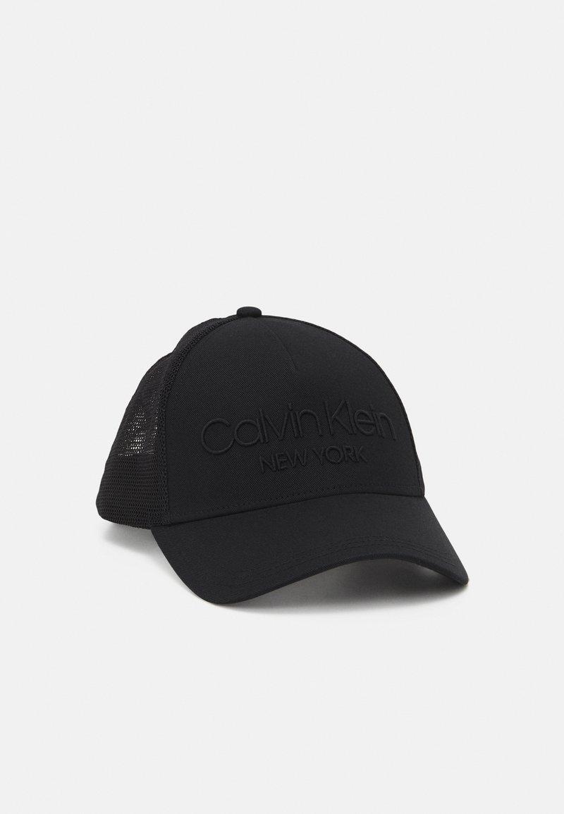 Calvin Klein - TRUCKER - Cap - black