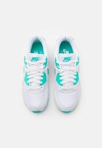 Nike Sportswear - AIR MAX 90 - Sneakers basse - white/hyper jade/black - 3
