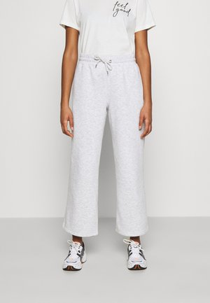 KAJSA TROUSERS - Tracksuit bottoms - grey melange