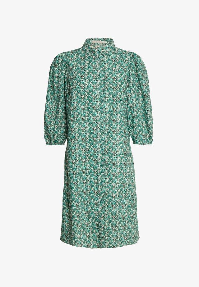 PCPERNILLE 3/4 DRESS TALL - Shirt dress - multi coloured