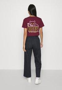 Obey Clothing - CREEPER PANT - Chino kalhoty - blue/multi - 2