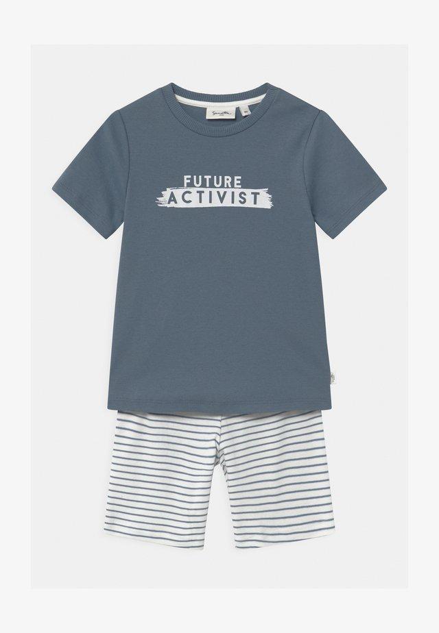 PURE MINI UNISEX - Pyžamová sada - faded blue