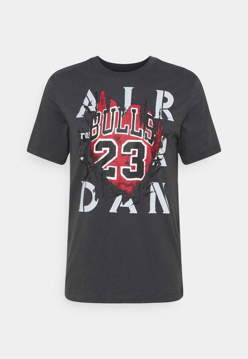 Jordan - CREW - Print T-shirt - anthracite