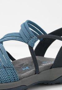 Skechers - REGGAE SLIM - Walking sandals - navy - 2
