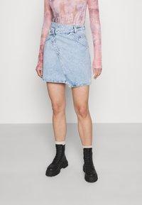 Monki - Mini skirt - light blue - 0