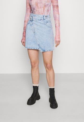 AMELIE SKIRT - Mini skirt - light blue