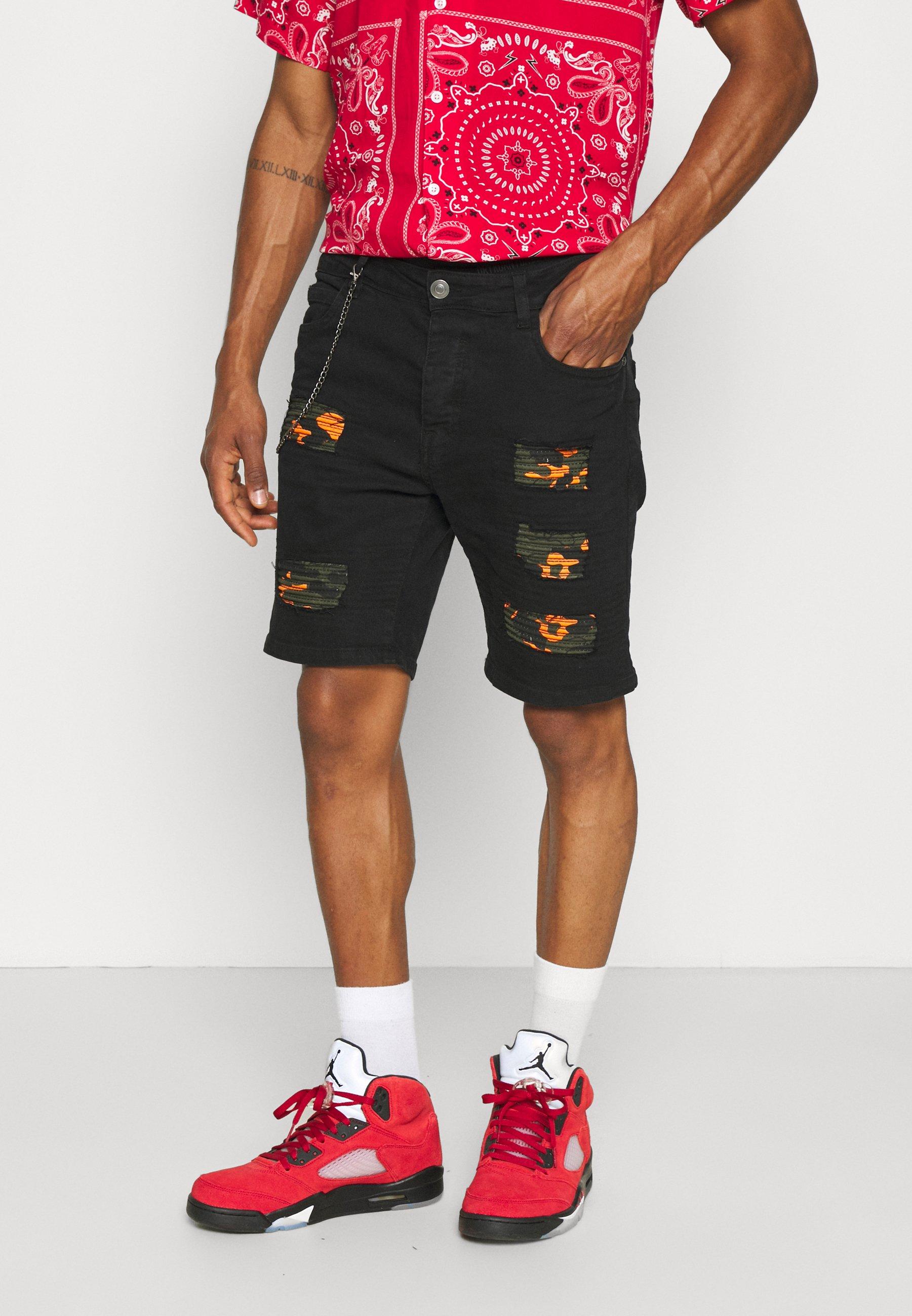 Uomo ROBINSCAMO - Shorts di jeans