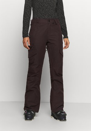 ASTON GORE TEX PANT - Pantaloni da neve - black red
