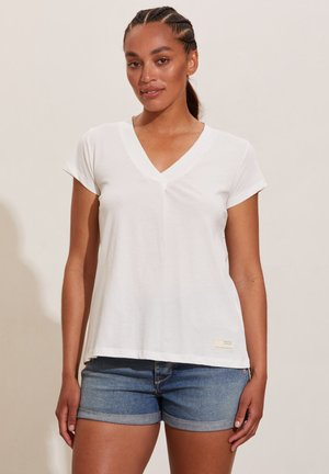 ZOOEY - Basic T-shirt - light chalk
