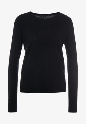 LAYLA CREW - Sweter - black