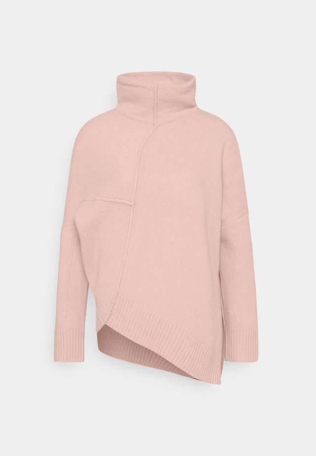 LOCK ROLL NECK - Trui - rose pink