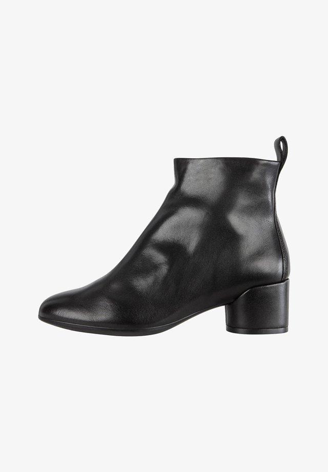 SHAPE MOD BLOCK - Korte laarzen - black