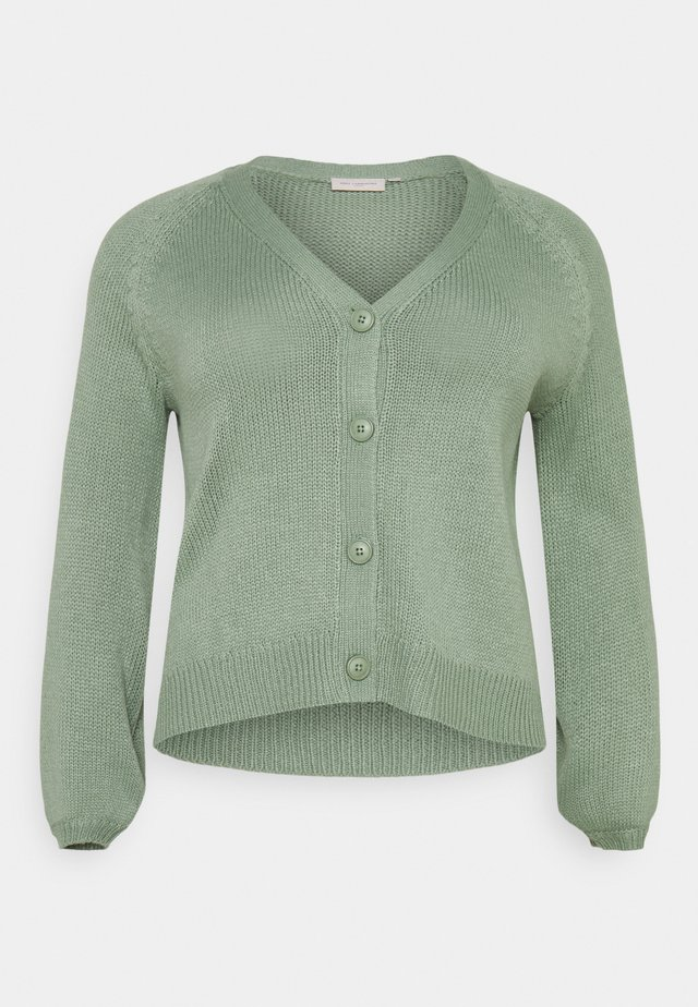 CARFALICIABERRY CARDIGAN - Vest - hedge green