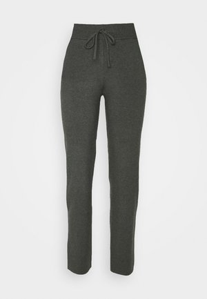 COMFY LOUNGE KNIT TROUSER - Bukser - mottled dark grey