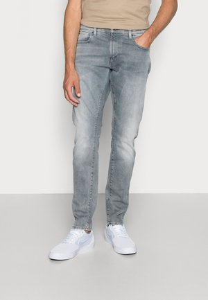 REVEND - Skinny džíny - faded industrial grey