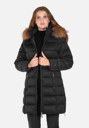 Winter coat - charcoal melange