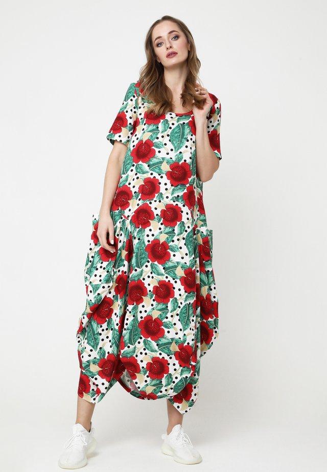 KOSKA - Robe d'été - weiß/rot