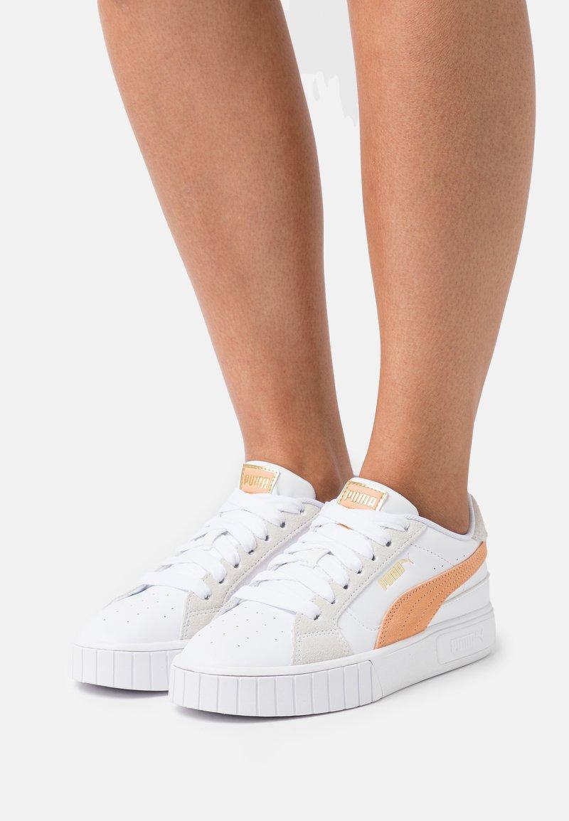 Puma - CALI STAR MIX  - Sneakers - white/peach