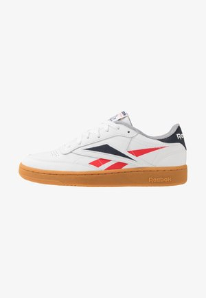 CLUB C 85 - Trainers - white/radiant red/collegiate navy