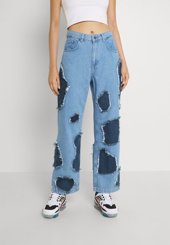 RANCH - Jeansy Relaxed Fit - light blue/indigo