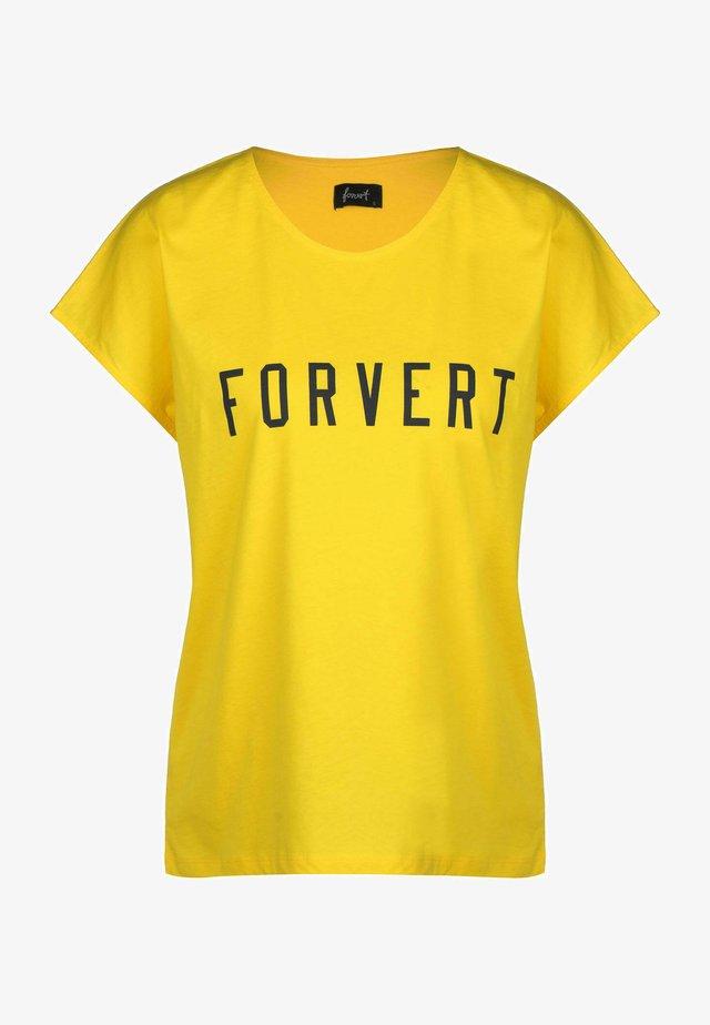 Débardeur - yellow
