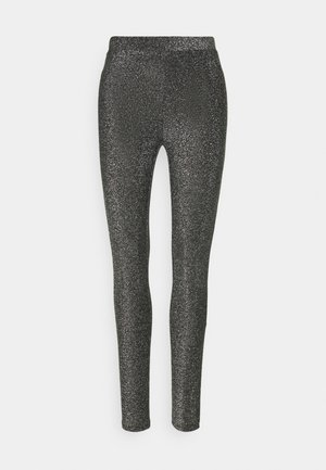 PCRINA - Leggings - Trousers - silver