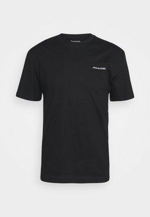 TEE O NECK - T-shirt basic - black