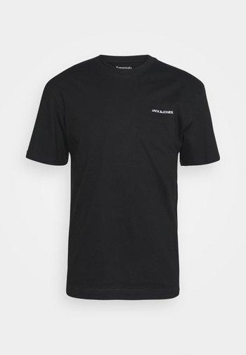 TEE O NECK - Basic T-shirt - black