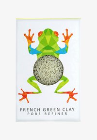 green clay/rainforest tree frog