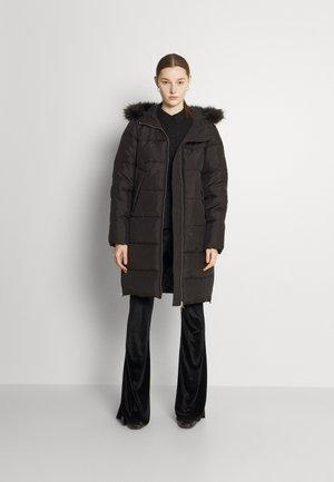 JDYELI SUNNY LONG PADDED  - Winter coat - black