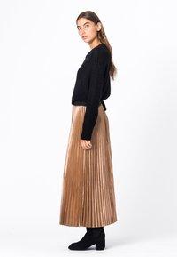 HALLHUBER - A-line skirt - camel - 2
