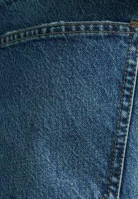 Bershka - STRAIGHT VINTAGE - Relaxed fit jeans - dark blue - 5