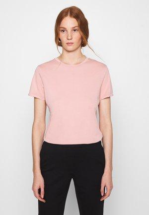 VEGIFLOWER - T-shirt basic - poudre