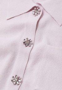 Mango - BROTO - Button-down blouse - violet clair pastel - 6