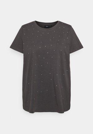 T-shirt imprimé - black acid