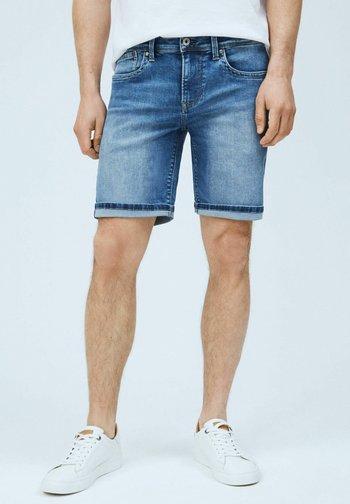 HATCH - Denim shorts - denim