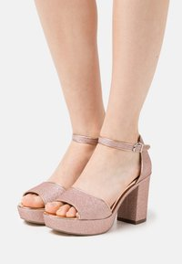 Tamaris - Platform sandals - rose glam - 0