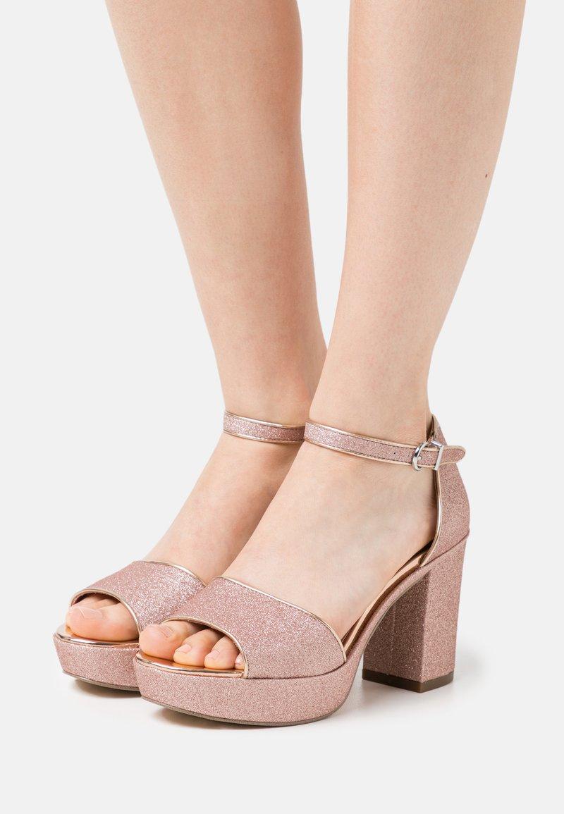 Tamaris - Platform sandals - rose glam