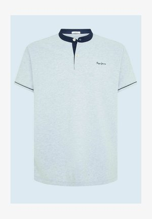 BENEDICT - T-shirt med print - gris marl