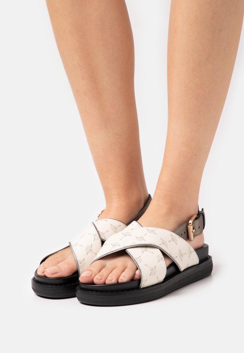 JOOP! - CORTINA MARA  - Platform sandals - offwhite