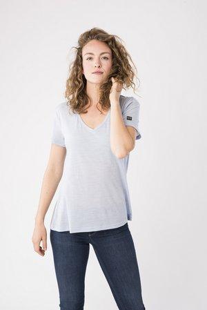 TRAVEL - Basic T-shirt - light blue