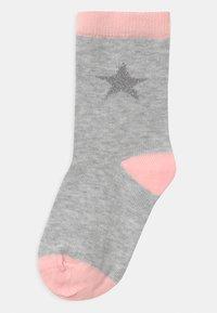 Name it - NKFSWAN 8 PACK - Socks - light grey melange - 1