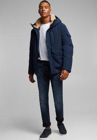edc by Esprit - Slim fit jeans - blue black - 1