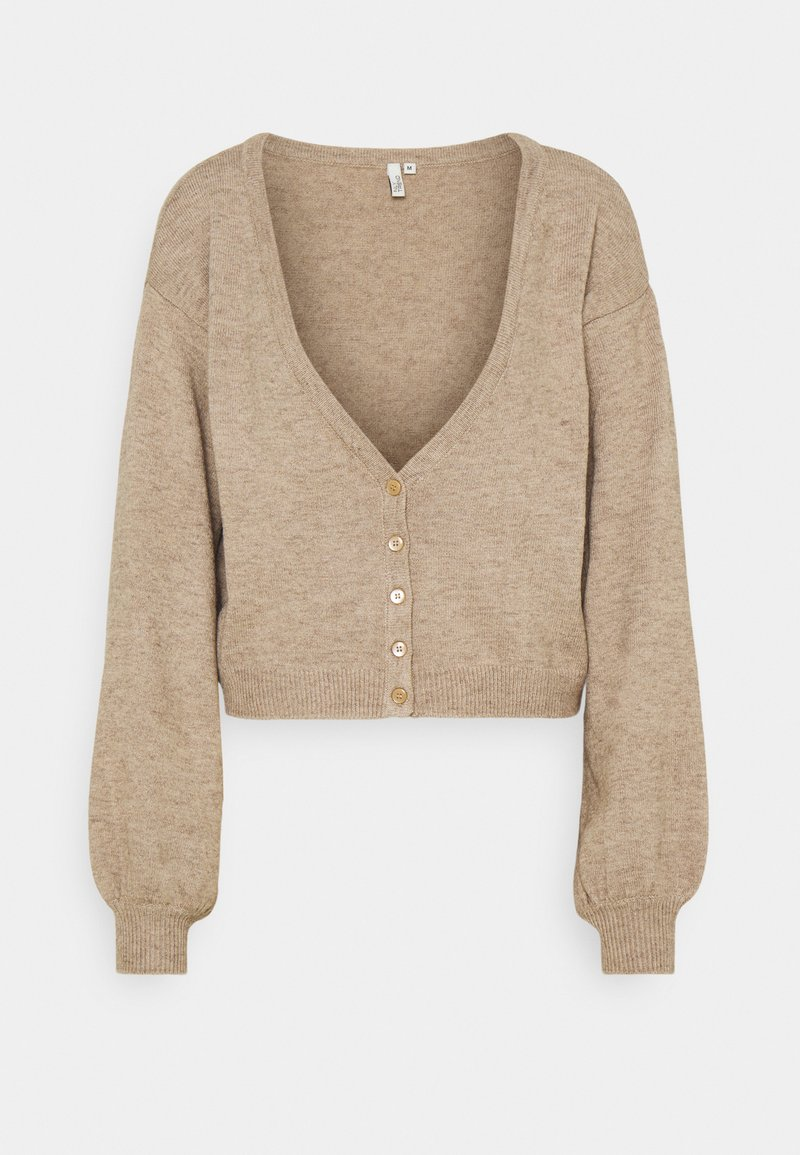 Nly by Nelly - OFF TOPIC - Cardigan - beige