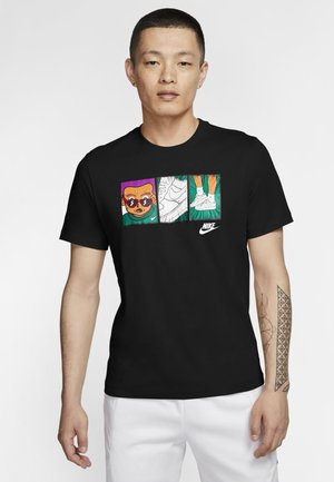 TEE ILLUSTRATION - Print T-shirt - black/white