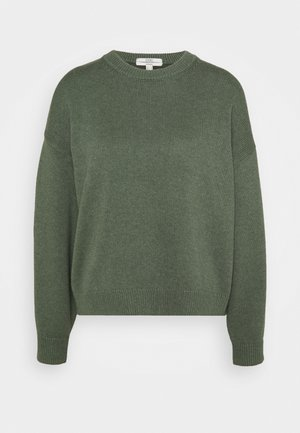 CREW NECK - Jumper - light khaki
