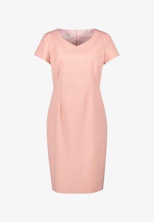 Robe fourreau - pastel rose